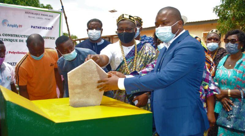 Construction d'une pédiatrie moderne dans la commune d'Agoè- Nyivé 1 : Akoété Adanbounou et les partenaires posent la première pierre